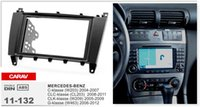 benz clc - CARAV Top Quality Radio Fascia for MERCEDES BENZ C klasse CLC CLK klasse Stereo Fascia Dash CD Trim Installation Kit