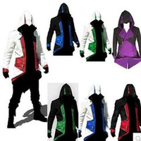 assassin s creed clothing - Assassins Creed III Conner Kenway Hoodie Coat Jacket Cosplay Costume Clothes Cool Gifts