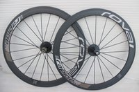 Wholesale Full carbon fiber road bike wheels roval Rapide Wheelset mm rim C bicycle wheel clincher tubular with quick release brake pad