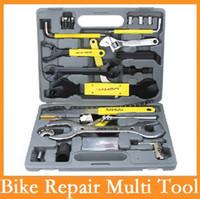 Wholesale SAHOO universal Professional Bicycle Tools Multifunctional Kit Set Case Cycling Portable in set of Bike Repair Multi Tool