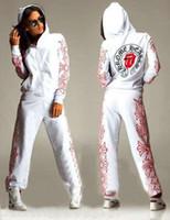 Wholesale 2016 new fashion Woman Clothes sets Printed Tracksuits Piece Set Women Sport Suit Hoodies Jogging