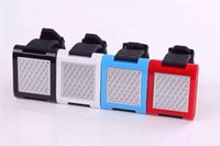 Wholesale Handsfree Bluetooth Watch Mini Speaker TF Card Wireless Portable Stereo Mic Player Bass Box Without LED Time Screen