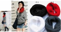 Wholesale 2016 new High quality Women Winter Warm Infinity single Cable Knit Cowl Neck Scarf Shawl
