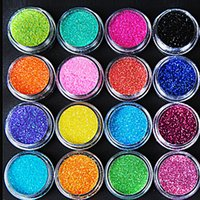 acrylic powder sale - set Hot Sale Colors Nail Art Kit Acrylic Dust Set Glitter UV Powder Nail Beauty ej600271