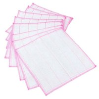 Wholesale Bamboo Fiber Hand Washing Cleaning Cloth Kitchen Bowl Wipping Cloth Dishcloth x30cm