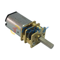 Wholesale Tiny gear motor V RPM N20 dc motor of Miniature Low speed motor Robot Motor with Metal Gear Box