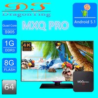Wholesale Kodi Fully Loaded Mxq Pro Android Amlogic S905 Quad Core Smart Tv Box Wifi K Amazon Fire Stick