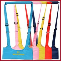 Wholesale Hot Selling Baby Safe Infant Walking Belt Kid Keeper Walking Learning Assistant Toddler Adjustable Strap Harness