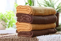 Wholesale Super Thick Towels Do Baby Blankets Bamboo Fiber Material Super Soft Skin friendly Weight g
