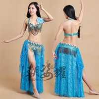 Wholesale Handmade beaded belly dance set practice service belly dance clothes dance costume female clothes