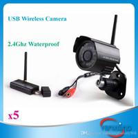 Wholesale Night Vision Waterproof Surveillance Motion Detection Recording Wifi Digital Wireless Rohs Webcam PC Camera ZY SX