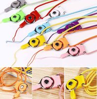 id card neck lanyard - Rotatable Detachable Ring Neck Strap Lanyard Charming Charms For Cell Phone MP3 MP4 Flash Drives ID Cards Cellphone