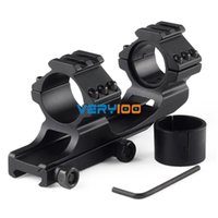Wholesale 1pc Offset mm Scope Mount w inch inserts Picatinny QD Cam Locks New order lt no track