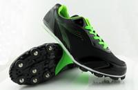 TrackField profesional de los zapatos de los hombres y las mujeres los zapatos corrientes de los picos de la pista carreras de velocidad de salto de altura de los zapatos, zapatos, zapatos deportivos salto largos zapatos de reuniones