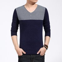 big and tall sweaters - autumn mens sweaters blusas masculina pullover men knitwear M XL XL plus size sweaters for mens big and tall V Neck