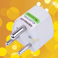 adaptor south africa - South Africa ZA India IN United Kingdom UK Plug Adapter Universal Converter Travel Power Plug pins round AC adaptor