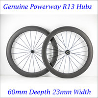 Wholesale Cycling Carbon Wheels mm C Wheel Carbon Road Bike Wheelset Clincher Matt Finish hole K Wave Stock In USA