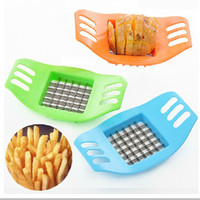 Wholesale Brand New Stainless French Fries Potato Chips Cutter Fruit Vegetable Slicer Chopper Halloween Christmas Party Kitchen Tools