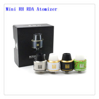 Cheap Replaceable Mini RH RDA Atomizers Best 2.0ml Metal 2mm Post Holes