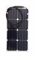 Other marine solar panels - Sunpower Maxeon C60 High efficiency bendable solar panel V W with waterproof junction box for marine use