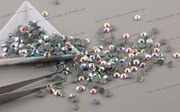 Others better irons - Super Shiny Better than DMC Hot Fix Rhinestone Crystal AB bag SS10 mm Iron on Transfer Hotfix Stones