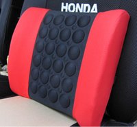 Wholesale QP046 color red black gray white electric massage lumbar support vehienlar household cushion car cushion tournure auto supply