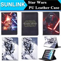 air force war - Star Wars The Force Awakens Stormtrooper Darth Vader Folio Folding Stand PU Leather Case Cover for iPad Mini Air Air2