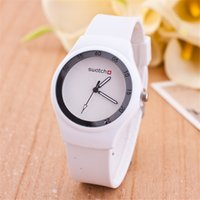 ice watches - ZB26 Swiss Watches Fashion Ice cream color Ultra thin fashion gift silicone watch Geneva silicone Wristwatch