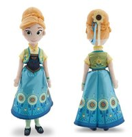 action figure comics - Frozen Frozen Fever dolls cm princess elsa anna toys Stuffed dolls action figures plush toys children s Gift
