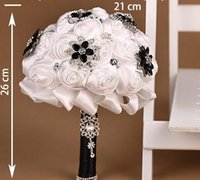 Cheap Bouquet Bridal Flowers Best Satin  Diamond