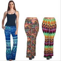 Cheap Woman Printed Wide Leg Pants | Free Shipping Woman Printed ...