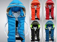 Wholesale Fall New Winter casual cotton down men women vest latest style Fashion Warm Hooded thick jacket men coat size S XXXL