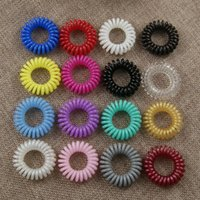 Wholesale Invisibobble Traceless Hair Rings Invisible Hair Jewelry Plastic Rim Rubber Bands Woman Girls Birthday Present Limited Edition