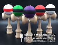 Wholesale 70piece NEW Rubber paint flexible Draw the line skills with a sword jade ball kendama