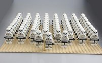 animated block - 100pcs POGO Star Wars Imperial Stormtrooper minifigure building block toys compatible with plush toy The Rebels Animated NEW