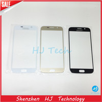 Wholesale High Quality Touch Screen Front Cover Outer Glass Lens Replacement Parts For Samsung Galaxy S6 G9200 S7