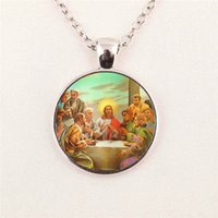 baby jesus christ - Blessed Virgin Mary Mother of Baby necklace Jesus Christ Christian pendant Catholic Religious Glass Tile pendant glass gemstone necklace