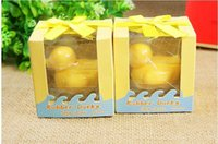 Wholesale Artistic Scented Little Duck Soap for Wedding Favors Gifts or Baby Shower Soap