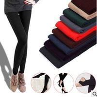 Wholesale 2015 Spring Korean fashion single brushed leggings feet even step foot nine points
