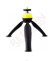 Wholesale Fashion Hot Gopro Accessories Stand Holder Handheld Mount Holder Rotational for GoPro Hero SJ4000 Camera Smart Phone