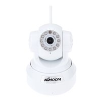 Wholesale KKMOON P2P IP Camera P HD Wifi Wireless Baby Monitor Security Camera H ONVIF Cloud Night Vision Micro SD Card Slot order lt no track
