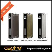 Wholesale Original Aspire Pegasus TC Mod VW W Battery Temperature Control Mod For Aspire Triton E Cig BOX MOD
