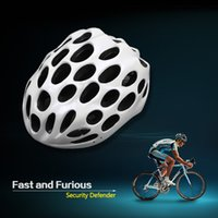 Wholesale Adult Sports Cycling Road Bike Cycling Helmets Honeycomb Shape Safety Bicycle Helmet Holes Mountain Bike Integrally Helmets