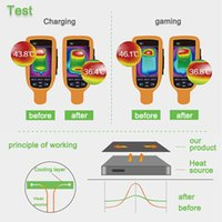 Wholesale New Colorful Cooling Paster Heat Sink Radiation Protection Sticker For iphone s Raphael