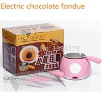 Wholesale Hot Sale Electric Chocolate Fountain Fondue Hot Chocolate Melt Pot melter Machine hot sale A3