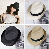 Cheap Straw Panama Hat Best Stingy Brim Caps