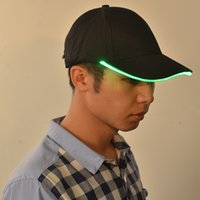 Wholesale LED lamp cap and hat night fishing cap can be illuminated by the hat camping night running safety