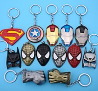 Promotion avengers bottle - NEW Hot fashion Cartoon Game movie Key Marvel s The Avengers super here alloy keychain wedding favors keychain cc58