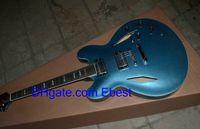 Wholesale Chinese electric custom blue guitar New arrival guitar guitar