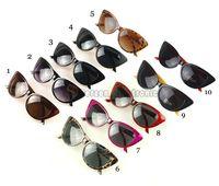 sunglass 3025 - Women s Vintage Cat Eye Designer Sunglass Outdoor Travel Retro Sunglasses UV400 Protective Shades Sun Glasses for Women